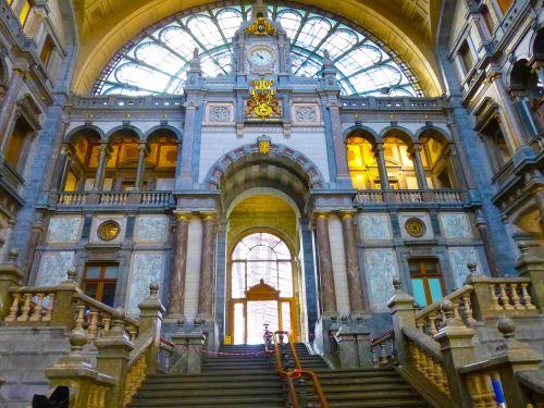 antwerp railway station belgium
