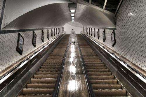 antwerp escalator architecture
