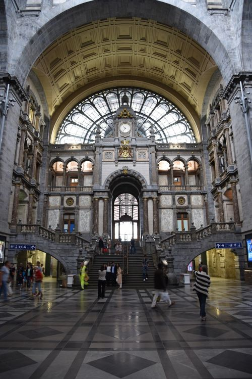 antwerp railway station central station