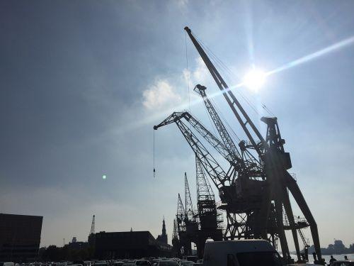 antwerp industry harbour