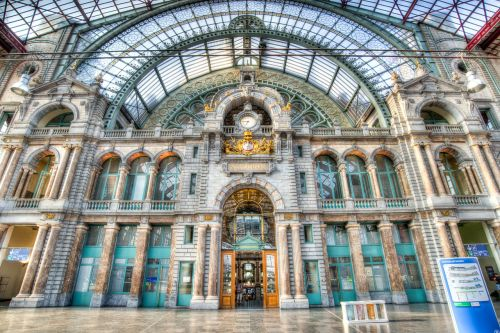 antwerp station central station