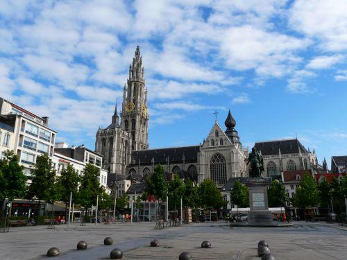Antwerp, Belgium, Groenplaats