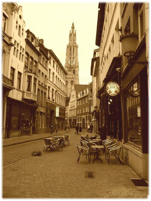 Antwerp, Belgium, Old Street