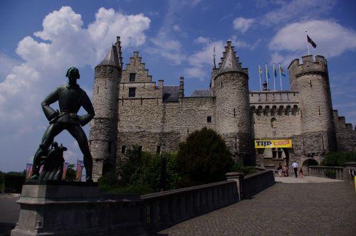 """Antwerp Castle """"Het Steen"""""""