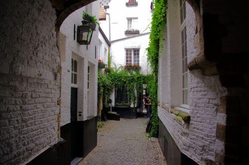 Antwerp Medieval Alley