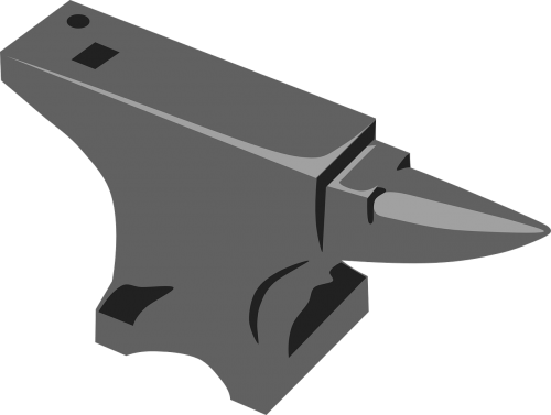 anvil blacksmith iron