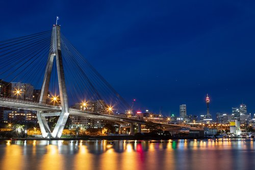 anzac  bridge  sydney