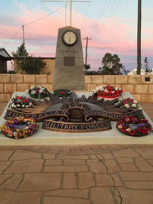 anzac day lest we forget western australia