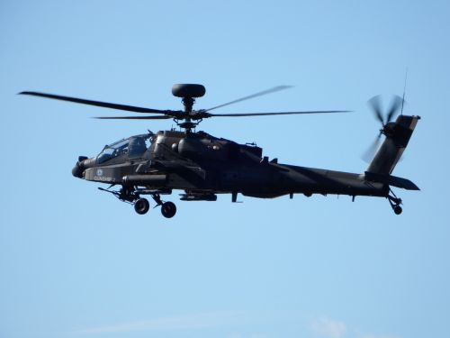 apache helicopter military