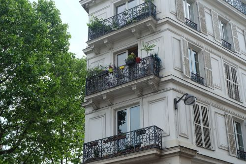 apartment french architecture building