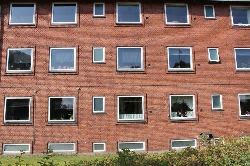 apartment block windows profit