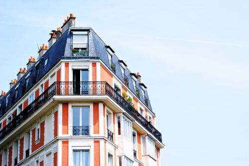 apartment building balconies building