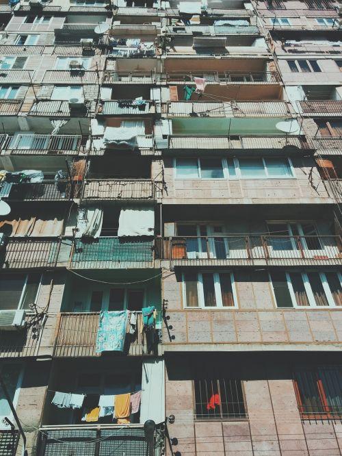 apartment building highrise poor