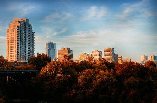 apartment buildings blocks high