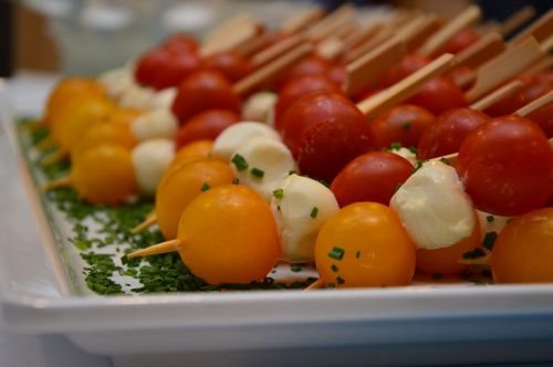 aperitif snack tomato