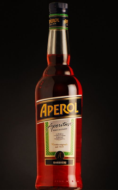 aperol bottle alcohol