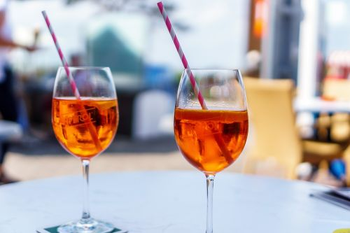 aperol spritz glasses cocktail glass