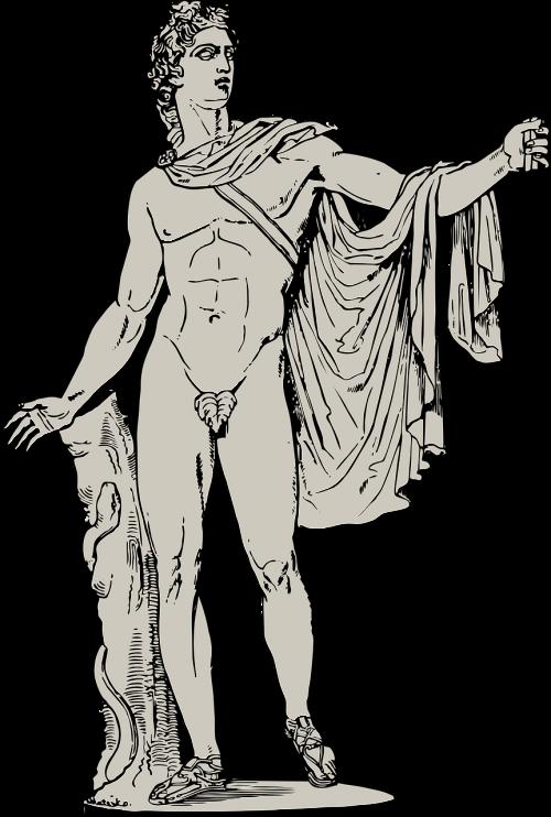 apollo greek greek statue
