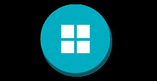 app menu material icon