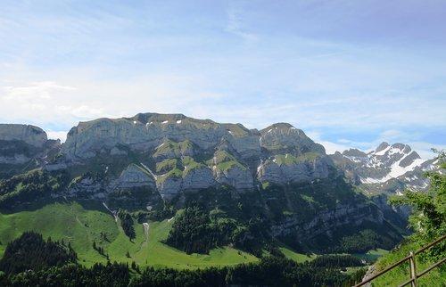 appenzell  mountain landscape