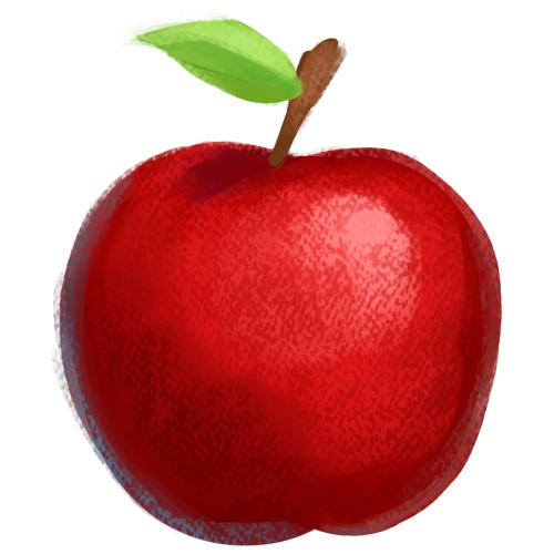 apple fruit red