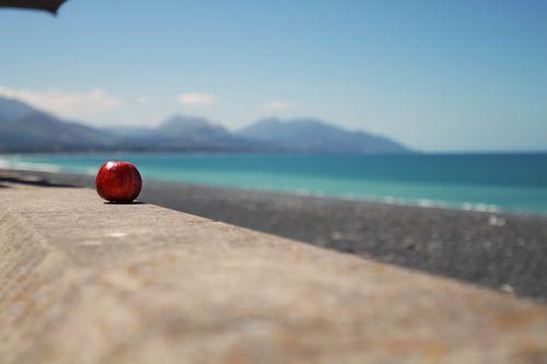 apple beach landscape