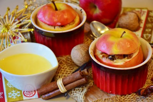apple baked apple advent