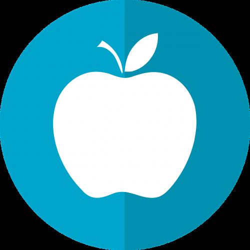 obuolys,obuolio piktograma,dietos piktograma,sveikas,maistas,vaisių piktograma,piktograma,mityba,medicinos piktogramos,mityba,dieta,vegetariškas,maistingas,nemokama vektorinė grafika