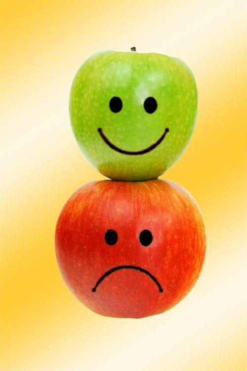 apple sad image editing