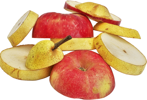 apple pears fruit