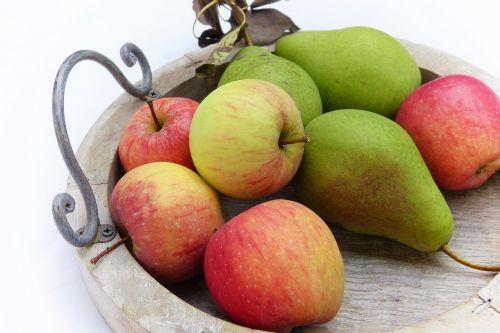 apple pear tray