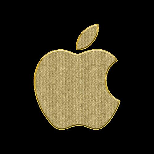 obuolys,iphone,logotipas,auksas,piktograma,piktogramos,ženklas,logotipas obuolys,auksinis,dekoruoti,simbolis,elementas,skaidrus fonas,obuolių logotipas