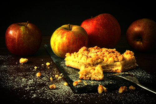 apple  apple pie  streusel cake