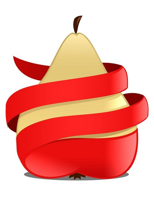 apple pear red
