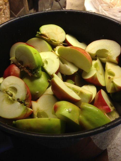 apple bits fruit eplegele