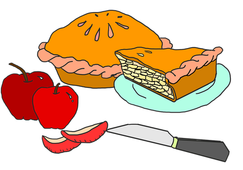 apple pie  dessert  apple