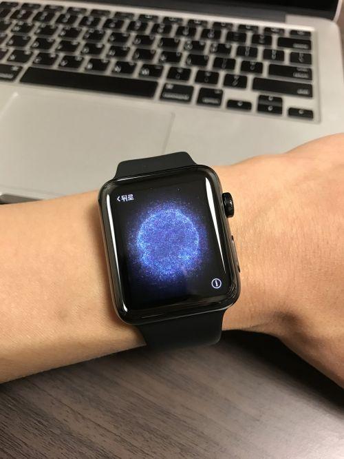 apple watch device electronic clock