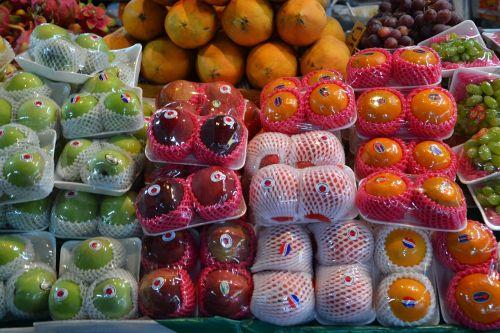 apples fruit oranges