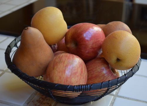 apples and pears fruit food