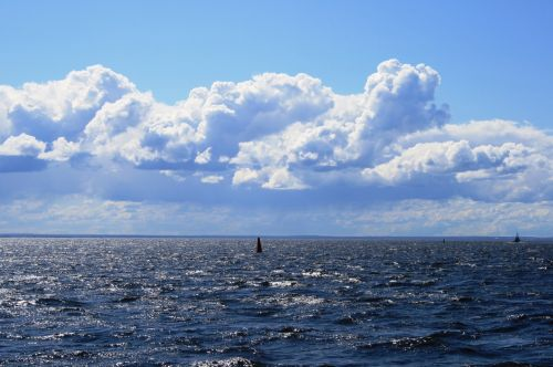 Approaching The Gulf Of Finland