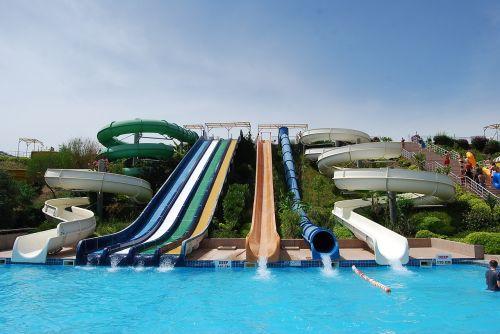 aqua park marmaris slides