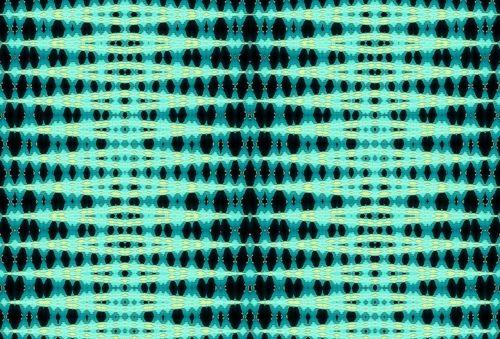 Aqua Zig-zag Pattern