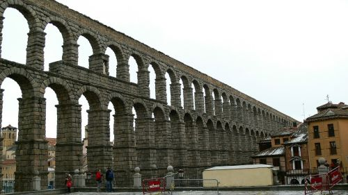 aquaduct segovia spain