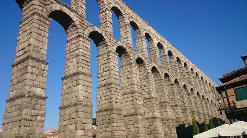 aqueduct city segovia