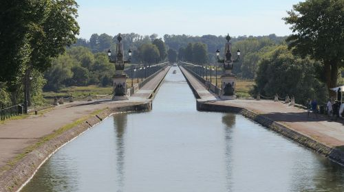 aqueduct briare water courses