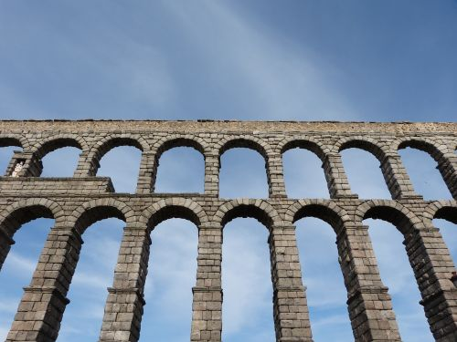 aqueduct of segovia aqueduct spain