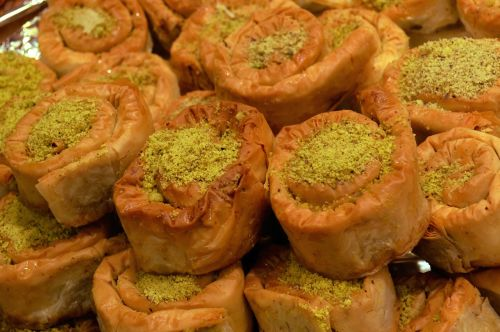 arab sweets bazar moroccan food
