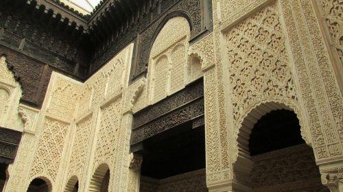 arabesque morocco medersa