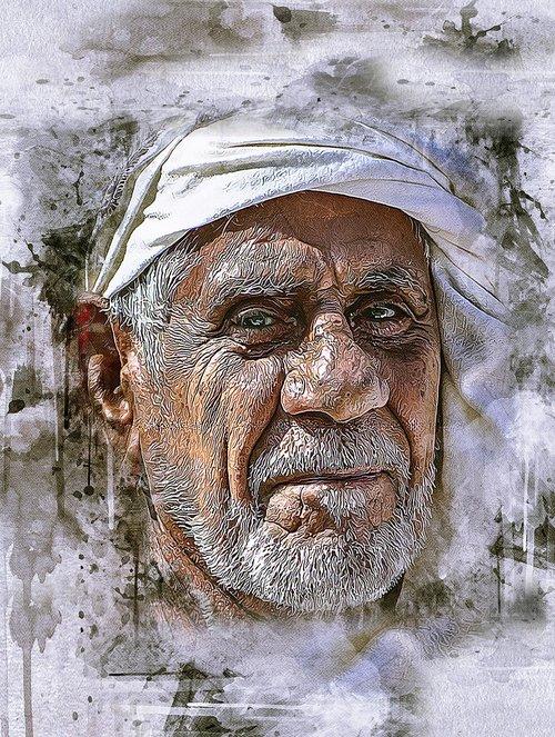 arabic  man  old