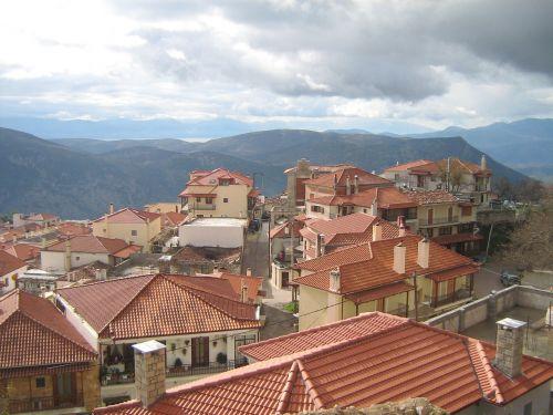 aráchova greece province